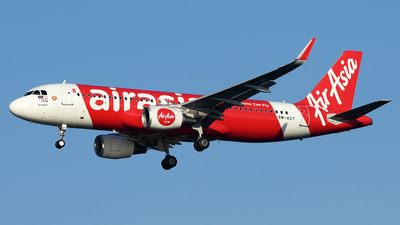 A picture of 9MAGT - Airbus A320216 - AirAsia - © Vicknesh PS