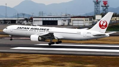JA613J - Boeing 767-346(ER) - Japan Airlines (JAL)