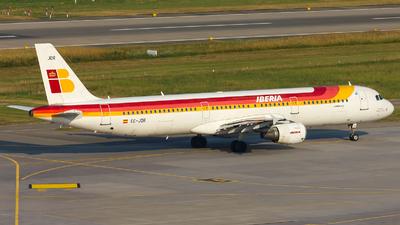 EC-JDR - Airbus A321-213 - Iberia