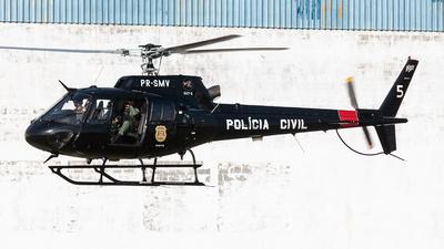 PR-SMV - Helibrás AS-350B2 Esquilo - Brazil - Policia Civil
