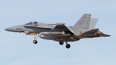 C.15-24 - McDonnell Douglas EF-18A+ Hornet - Spain - Air Force