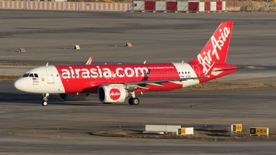 A picture of 9MAGB - Airbus A320251N - AirAsia - © liyang