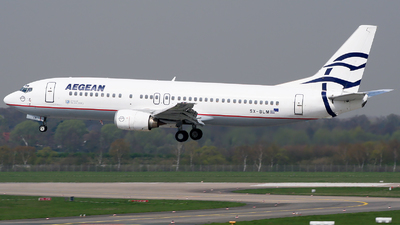 SX-BLM - Boeing 737-42C - Aegean Airlines