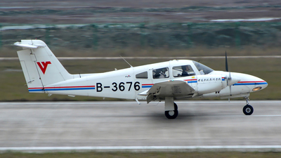 B-3676 - Piper PA-44-180 Seminole - Civil Aviation Flight University of China