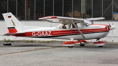 G-GAAZ - Reims-Cessna F172N Skyhawk II - Private