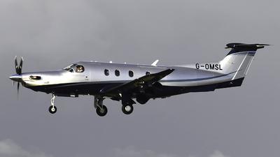 G-OMSL - Pilatus PC-12/47E - Private