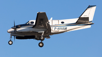 F-HHAM - Beechcraft C90A King Air - Darta Aéro Charter