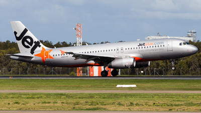 A picture of VHVQJ - Airbus A320232 - Jetstar Airways - © Brandon Giacomin