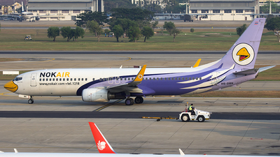 HS-DBN - Boeing 737-8AS - Nok Air