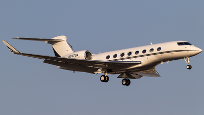 A picture of N697GA - Gulfstream G650 - [6097] - © Alex Crail
