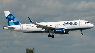 N834JB - Airbus A320-232 - jetBlue Airways