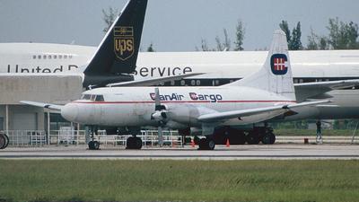 N582HG - Convair CV-580 - Can Air Cargo