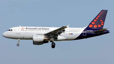 A picture of OOSSV - Airbus A319111 - Brussels Airlines - © Kris Van Craenenbroeck