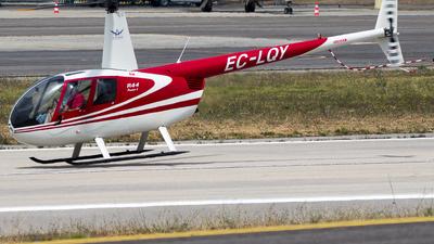 EC-LQY - Robinson R44 Raven - Private