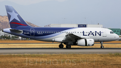CC-CPL - Airbus A319-132 - LAN Airlines