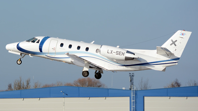 LX-SEH - Cessna 560XL Citation XLS - Luxaviation