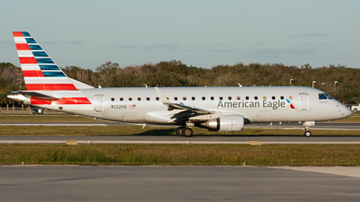 A picture of N122HQ - Embraer E175LR - American Airlines - © Ozell V. Stephens Jr.