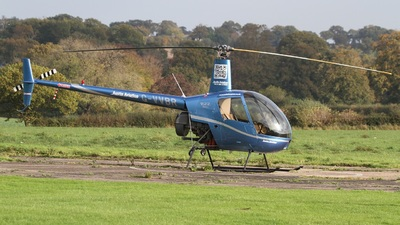 G-VVBR - Robinson R22 Beta - Austin Aviation