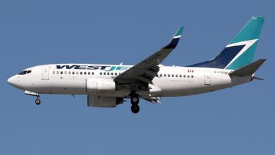 C-FIBW - Boeing 737-7CT - WestJet Airlines