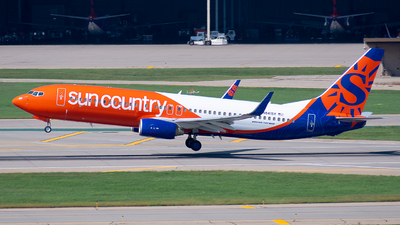 N841SY - Boeing 737-8JP - Sun Country Airlines