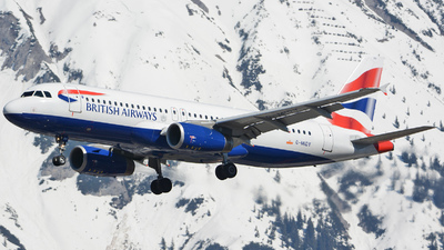 G-MIDY - Airbus A320-232 - British Airways