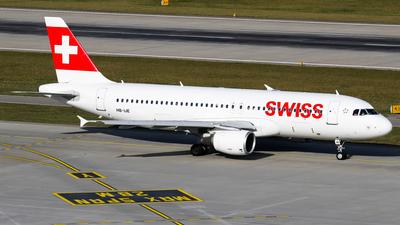 HB-IJE - Airbus A320-214 - Swiss