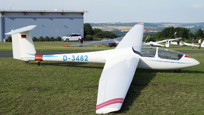 D-3482 - Schleicher ASK-21 - Fliegerklub Carl Zeiss Jena