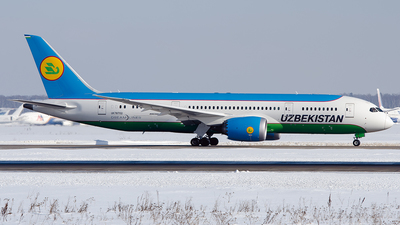 UK-78702 - Boeing 787-8 Dreamliner - Uzbekistan Airways