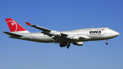 N661US - Boeing 747-451 - Northwest Airlines