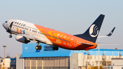 A picture of B5590 - Boeing 73785N - Shandong Airlines - © Northrop_L