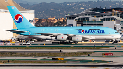 A picture of HL7615 - Airbus A380861 - Korean Air - © Brandon Giacomin