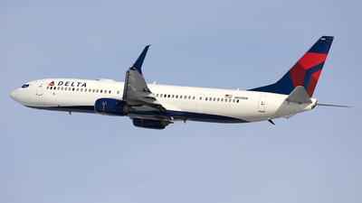 A picture of N803DN - Boeing 737932(ER) - Delta Air Lines - © Jeremy D. Dando