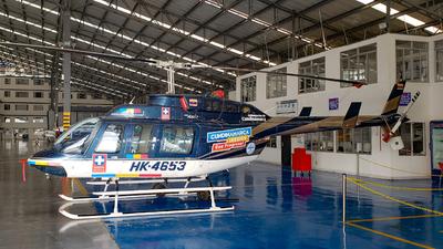 HK-4653 - Bell 206L-3 LongRanger - Sociedad Aeronáutica de Santander (SASA)
