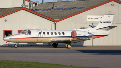 N560GT - Cessna 560 Citation V - Private