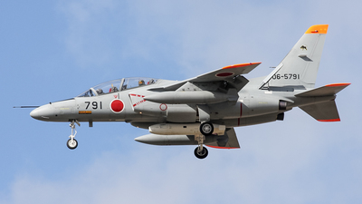 06-5791 - Kawasaki T-4 - Japan - Air Self Defence Force (JASDF)