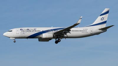 4X-EKS - Boeing 737-8HX - El Al Israel Airlines