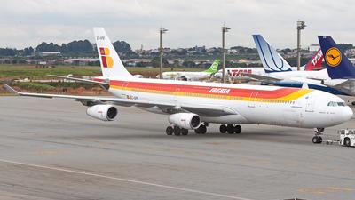 EC-GPB - Airbus A340-313X - Iberia