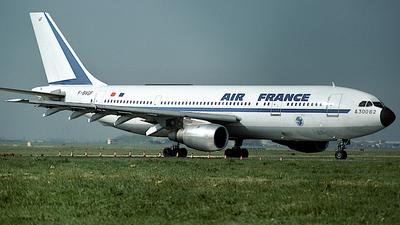 F-BVGF - Airbus A300B2-1C - Air France