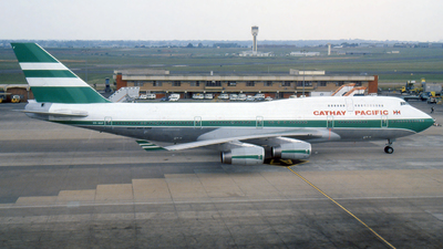 VR-HUF - Boeing 747-467 - Cathay Pacific Airways