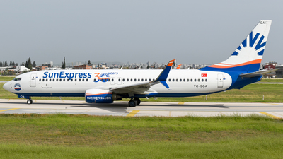 A picture of TCSOA - Boeing 7378HC - SunExpress - © Savas binici