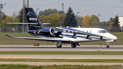 N688VM - Cessna 680 Citation Sovereign Plus - Private