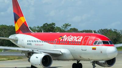 N590EL - Airbus A318-111 - Avianca
