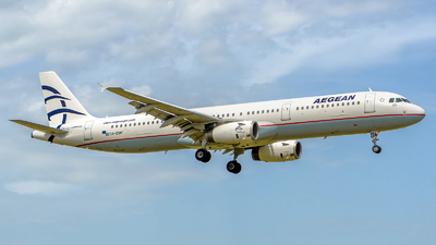 SX-DVP - Airbus A321-231 - Aegean Airlines