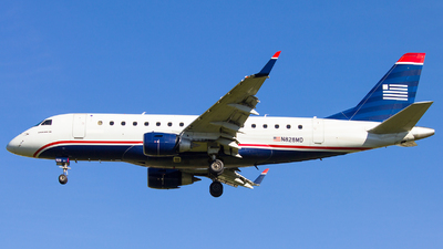 N828MD - Embraer 170-100SU - US Airways Express (Republic Airlines)