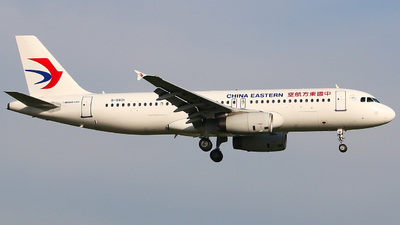 A picture of B6601 - Airbus A320232 - China Eastern Airlines - © Li Ruixiang