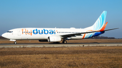 A picture of A6FEB - Boeing 7378KN - FlyDubai - © Marin Ghe.