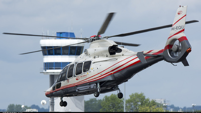 PH-EQU - Eurocopter EC 155B1 Dauphin - Heli Holland