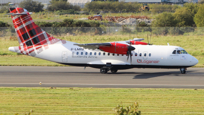 A picture of GLMRB - ATR 42500 - Loganair - © Andrew McCarron
