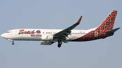 9M-LNC - Boeing 737-8GP - Batik Air Malaysia