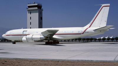 N7381 - Boeing 720-060B - Hughes Aircraft